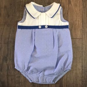 Other - Blue and White Bubble Onesie